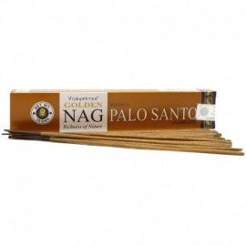 Incienso de Palo Santo Golden Nag - Madera Sagrada (15 gr)