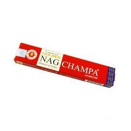 Incienso en varillas Golden rojo 15 gr NAG CHAMPA