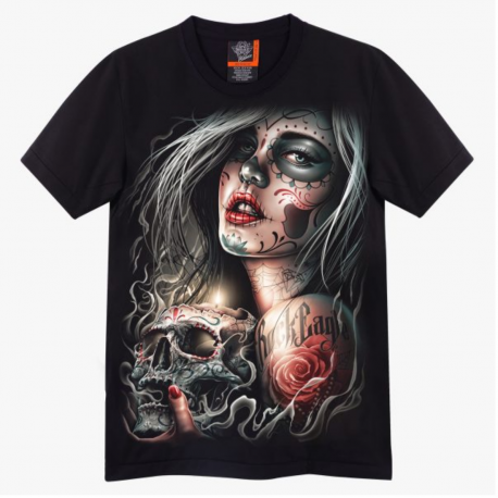 Camiseta Catrina Rock Eagle